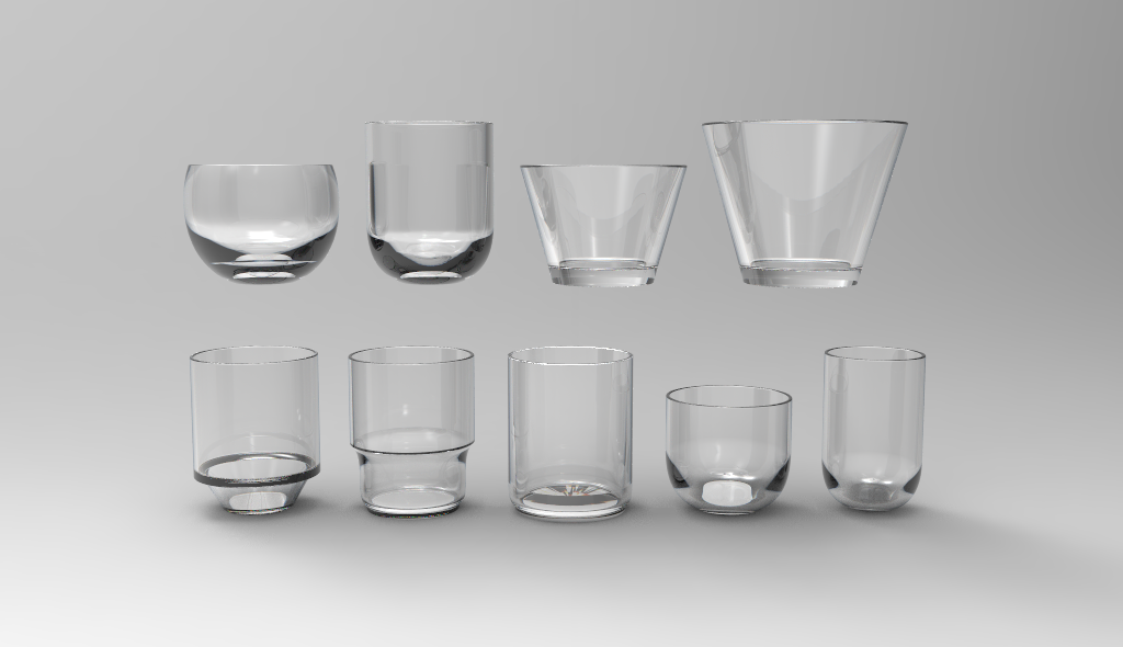 Development of Typographic Glassware