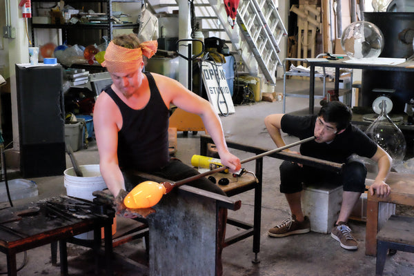 Glassmaking Process - Lucky Break Bowls