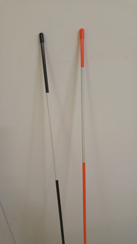 Black and Orange Snow Stakes