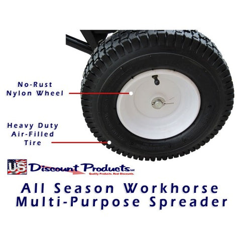 All Season Work Horse - Salt Spreader Coast Wheel