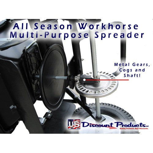 All Season Work Horse - Salt Spreader Drive Wheel