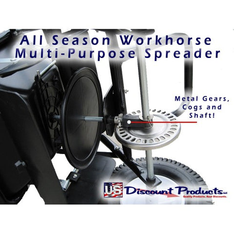 All Season Work Horse - Salt Spreader Axle