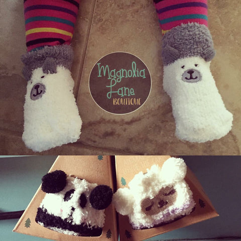 Fuzzy Baby Toddler Socks