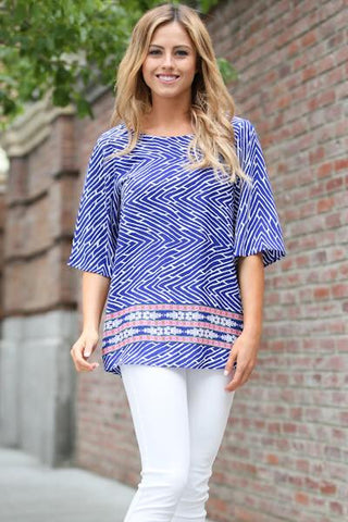 Key West Blue Tunic
