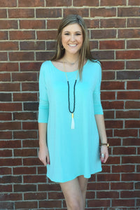 Caris 3/4 Sleeve Tunic