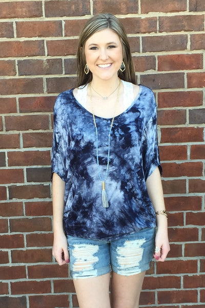 Good Vibes Tie Dye Top