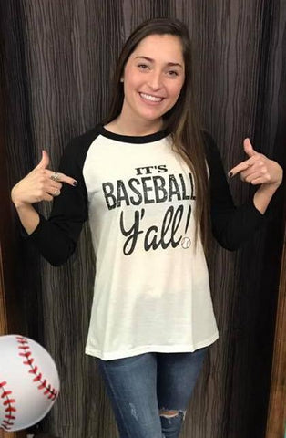 Baseball Y'all Graphic Tee