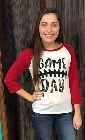 Game Day Baseball Graphic Tee