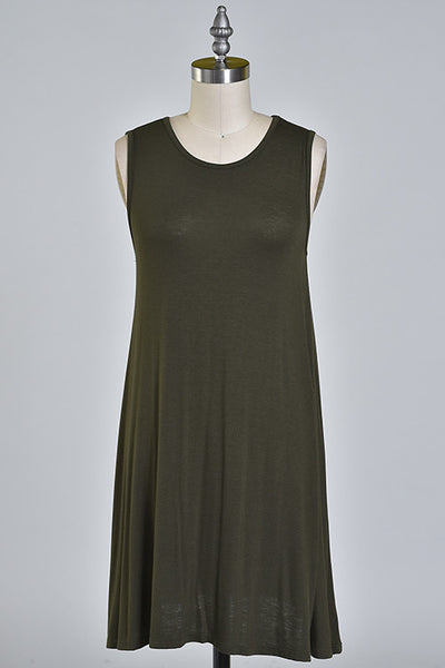 Livy Tank Dress - More Colors