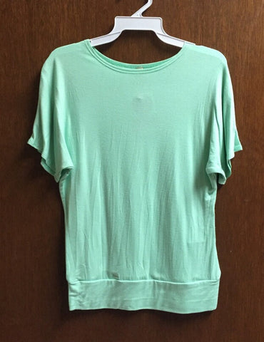 Girls Stella Dolman - Mint
