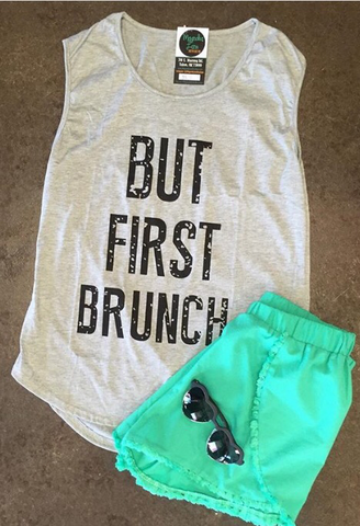 But First Brunch Tank