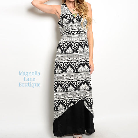 Aztec Trail Maxi Dress