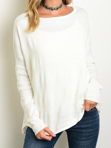 Kimber Sweater - White