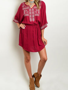 Vintage Closet Crimson Dress