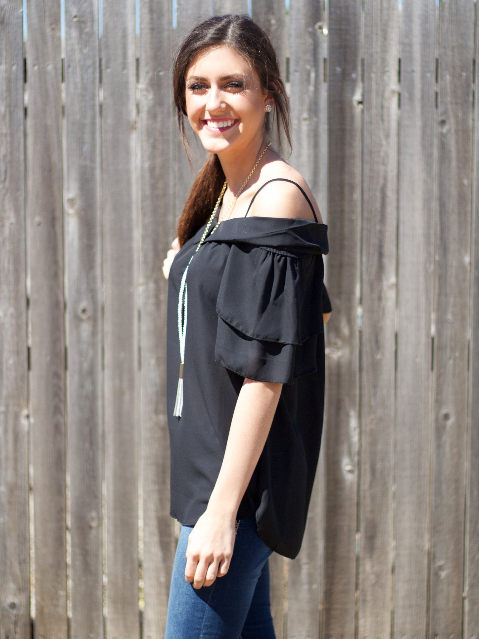 Gracyn Top - black