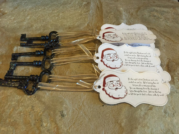 Santa Key Handcrafted Ornament For Adoption Fund