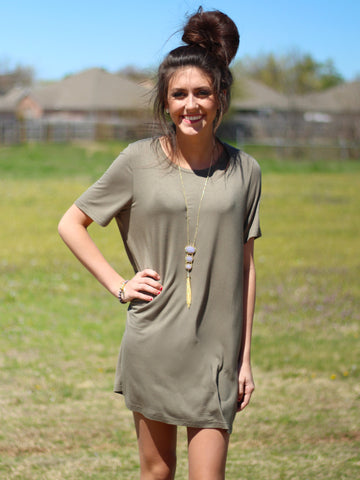 Lounger Tee Dress