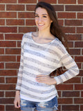 Transition Stripe Top