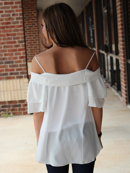 Gracyn Top - white