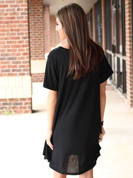 V Tee Dress - More Colors