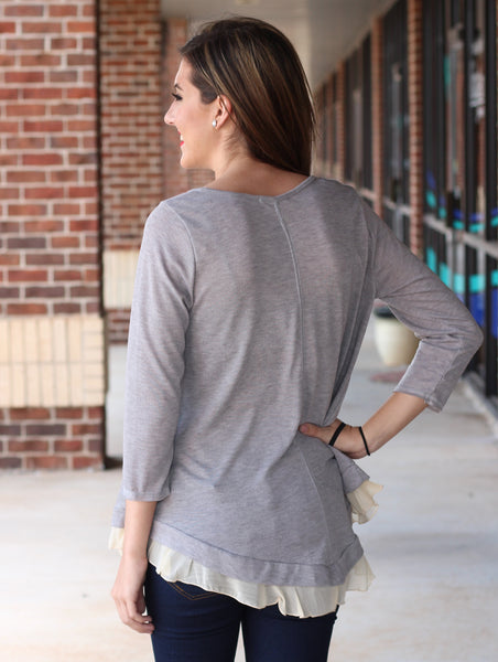 Layers Top - Grey