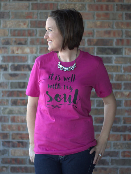 It Is Well With My Soul Graphic Tees