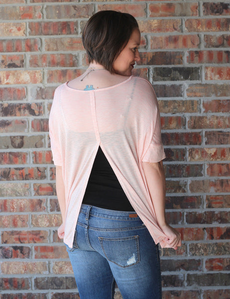 Flycatcher Split Peach Top