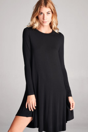 Harvest Moon Dress - Black