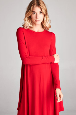Harvest Moon Dress - RED
