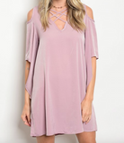 Lavender Fields Criss Cross Dress