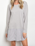 Under the Radar Dress - Gray