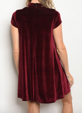 Party Time Dress - Wine