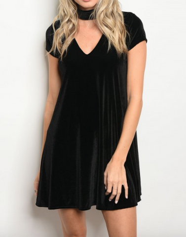 Party Time Dress - Black