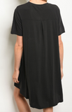 Fine By Me Dress - Black