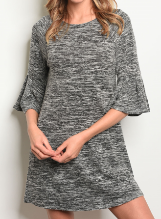 Salt + Light Dress - Black