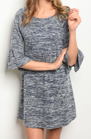 Salt + Light Dress - Navy