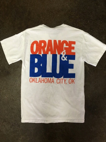 OKC White Comfort Colors Tee