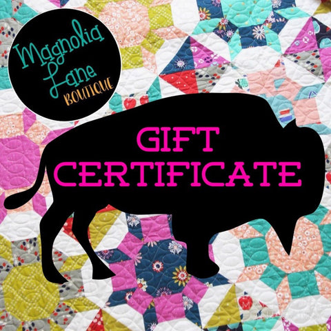 Gift Certificate - (choose your amount)