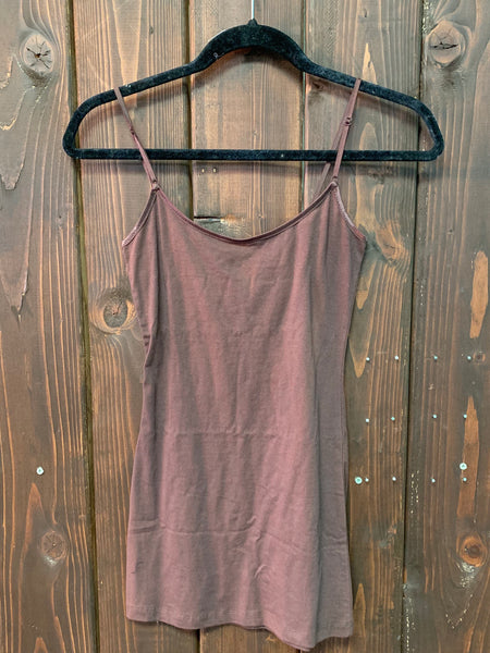 Long Camisole Tank Tops