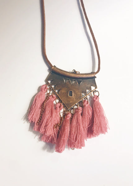 Tassel necklaces