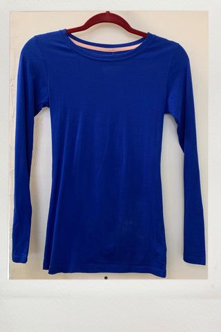 Active Fitted Top - Cobalt
