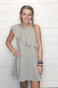 Maliyah Dress - Gray