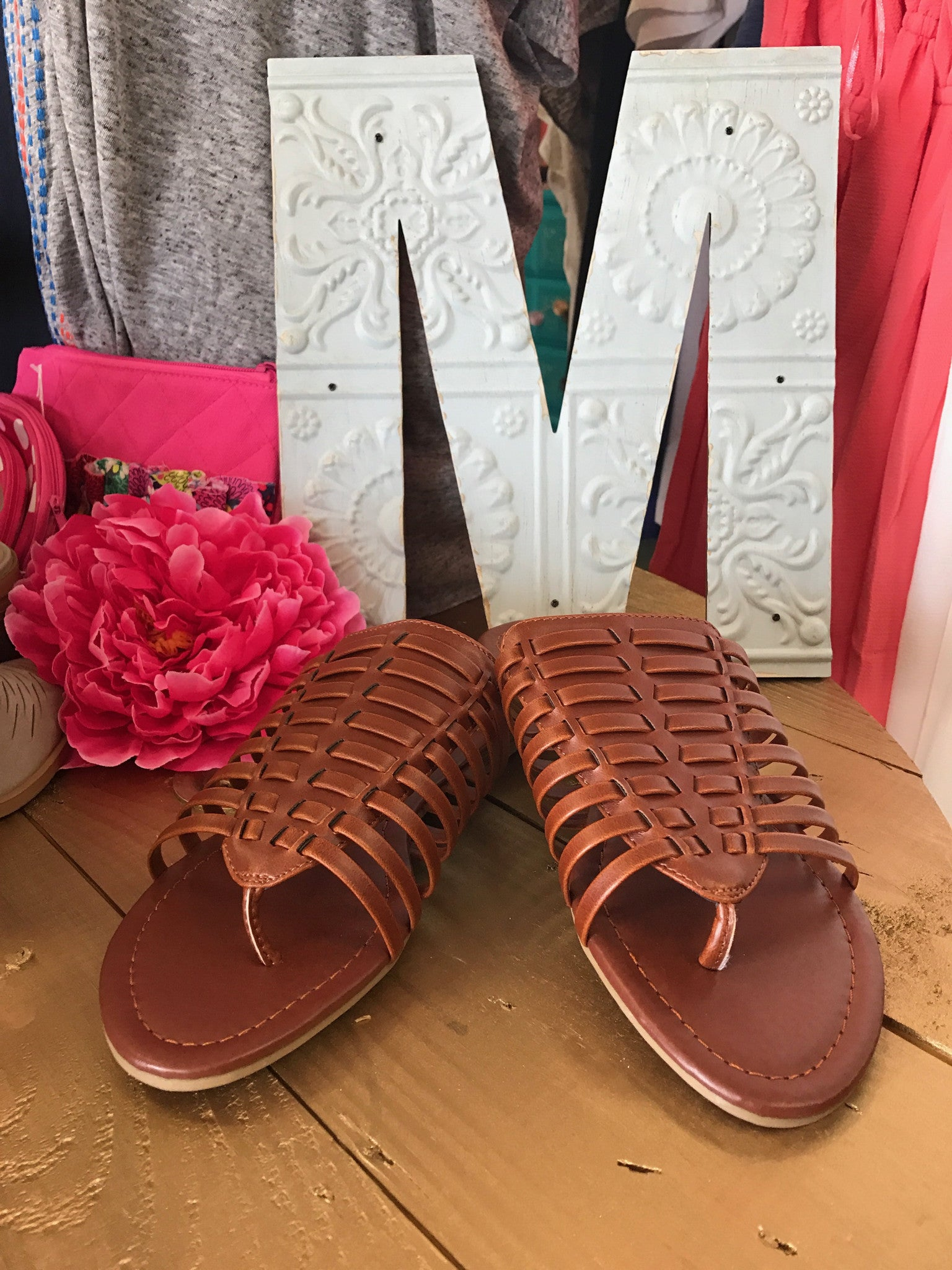 Miami Sandals Brown