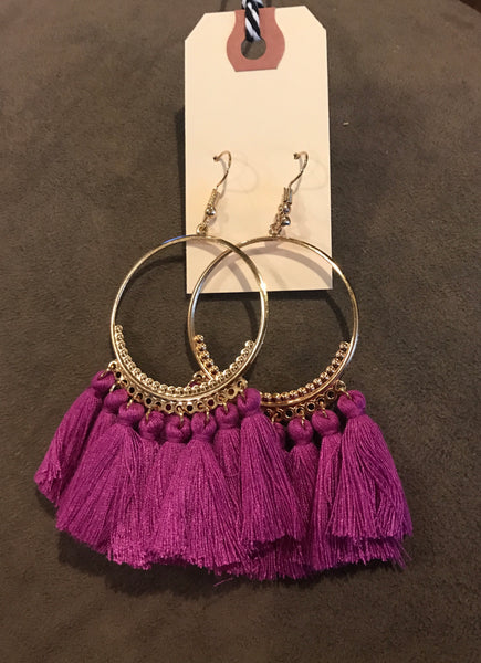 Tassel Earrings - More Colors