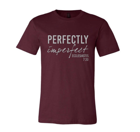 Perfectly Imperfect short sleeved tee - Twin Rivers Clothing Co.