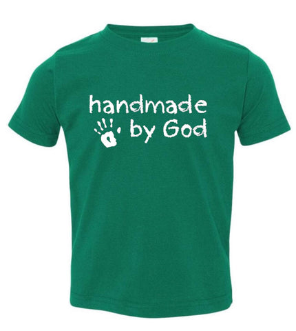 Handmade by God short sleeved tee - Twin Rivers Clothing Co.