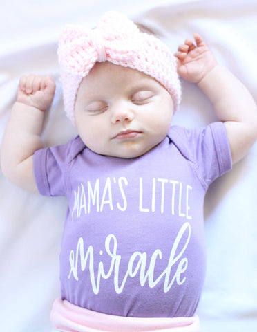 Mama's Little Miracle Bodysuit (5 colors)