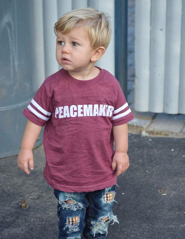 """Peacemaker"" Kids Tee/Infant Bodysuit"