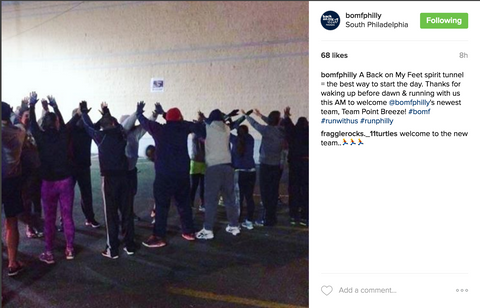 PLUSgives BoMF Point Breeze New Team Instagram