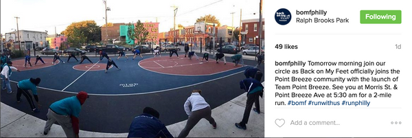 PLUSgives BoMF Point Breeze Instagram